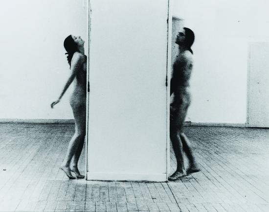 Marina Abramovic-Interruption in space 1977 The Art Academy Dusseldorf-1977