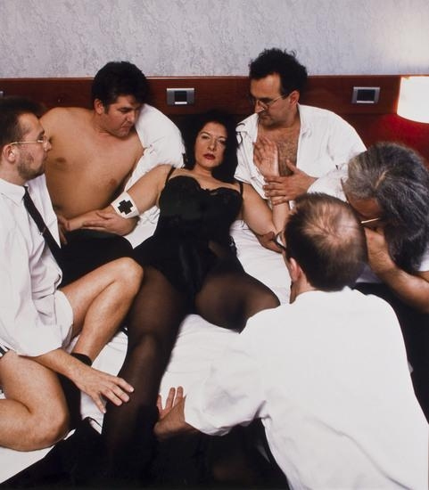 Marina Abramovic-Namepickers-1998