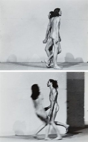 Marina Abramovic-Relation in Space-1976