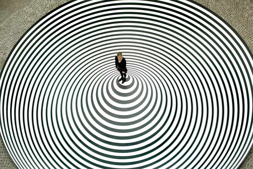 modern albers illusion josef