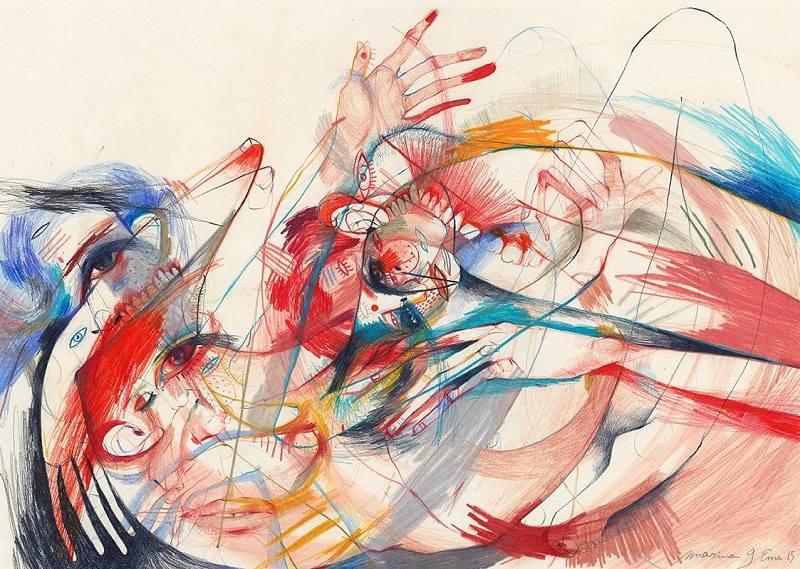Marina Gonzalez Eme - Lovers IV, 2015