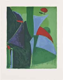 Marino Marini-L'Immaginazione, from Tre Epoche Tre Tecniche-1978