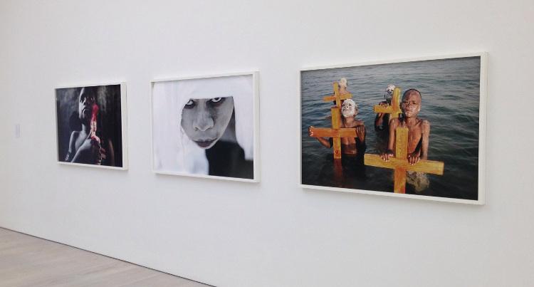 Mario Macilau - Pangaea: New Art from Africa and Latin America, 2014, Saatchi Gallery, installation view, photographs
