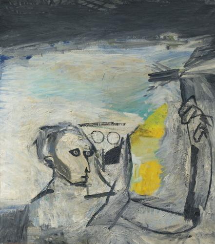 Mario Merz-Il Saldatore-1956