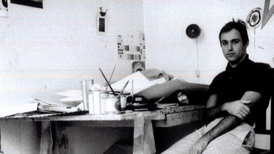 Mario Schifano, 1959-60 - Copyright Claudio Abate