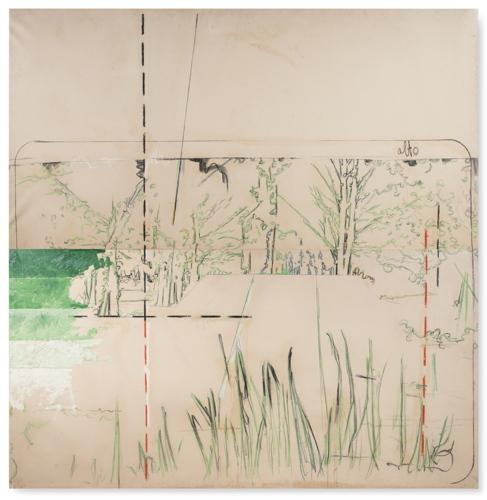 Mario Schifano-En Plein Air. Quadro Per La Primavera-1964