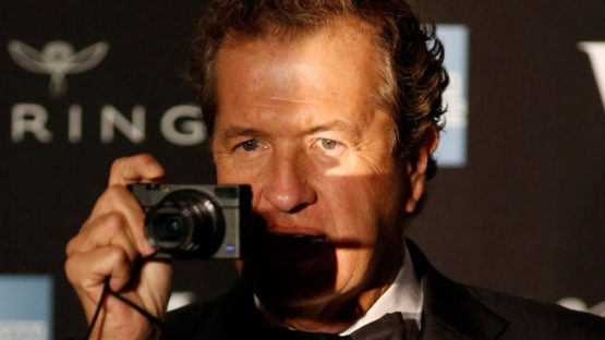 Mario Testino - Photo of the artist - Image via albawabacom