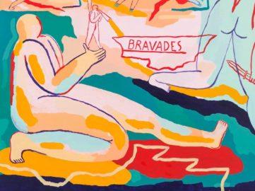 Marion Jdanoff - Bravades (detail), 2018