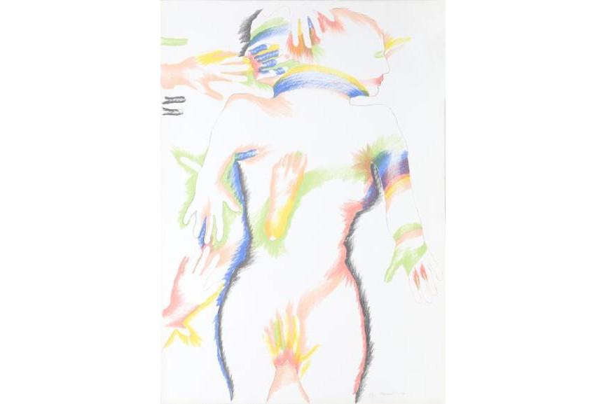 Marisol Escobar - Rainbow People