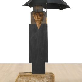 Marisol Escobar-Magritte II-1998