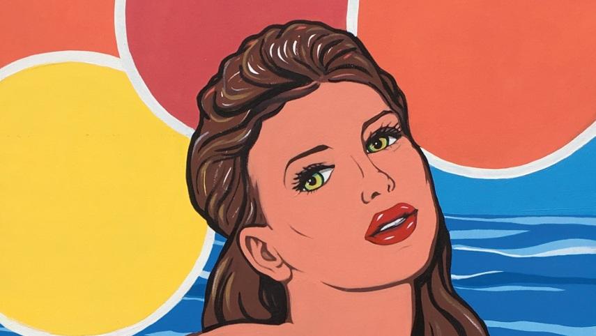 Marjorie Strider - Low Tide - Image via galeriemagazinecom
