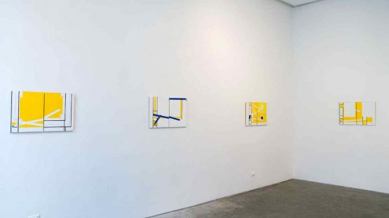 Marjorie Welish at Baumgartner Gallery, New York, 2006