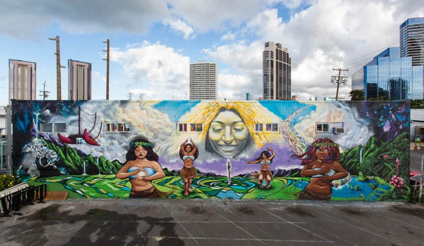 Mark Bode - A Mural in Hawaii