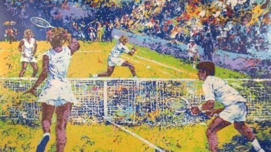 Mark King - Tennis Player (detail)