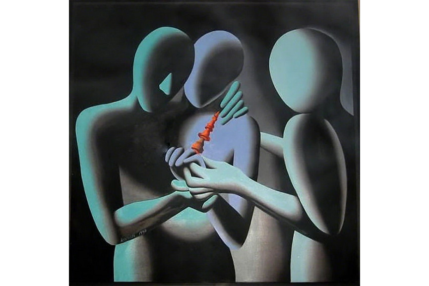Mark Kostabi - With this i present thee