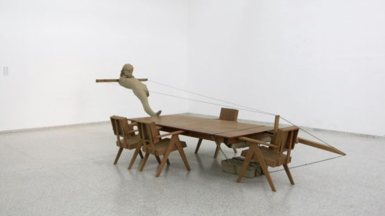 Mark Manders - Room with Broken Sentence Exhibition View, 2013 - Image source Contemporary Art Daily