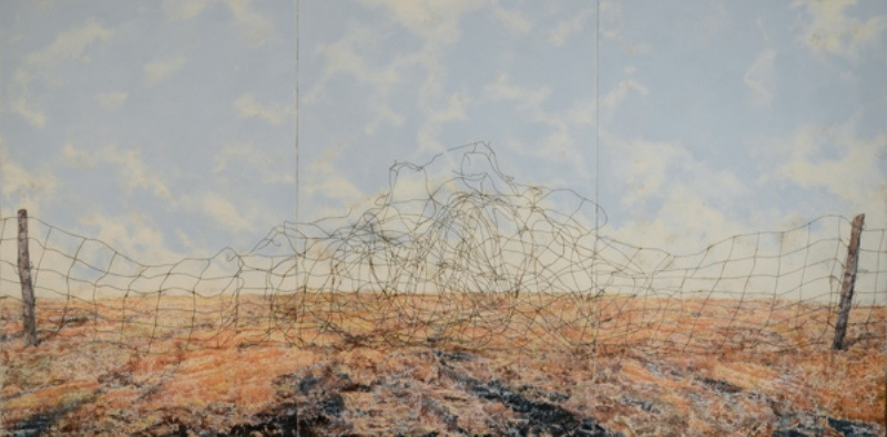 Mark Mastroianni - Autumn Fence, 2012