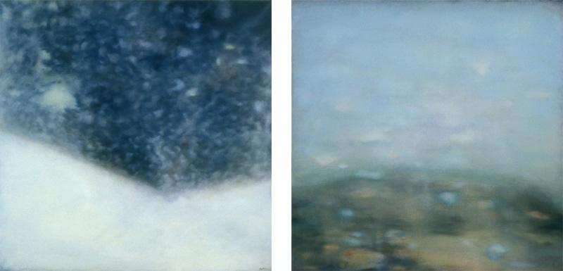 Mark Mastroianni - Late Day, 2003 and Pool, 2003