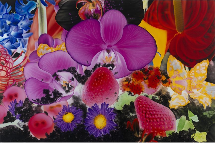 Marc Quinn aims to save the environment by panting spring flowers