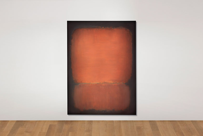 Christies Post-War and Contemporary Evening Salem mark rothko