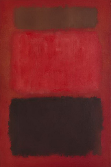 Mark Rothko - Browns and Blacks in Reds, 1957