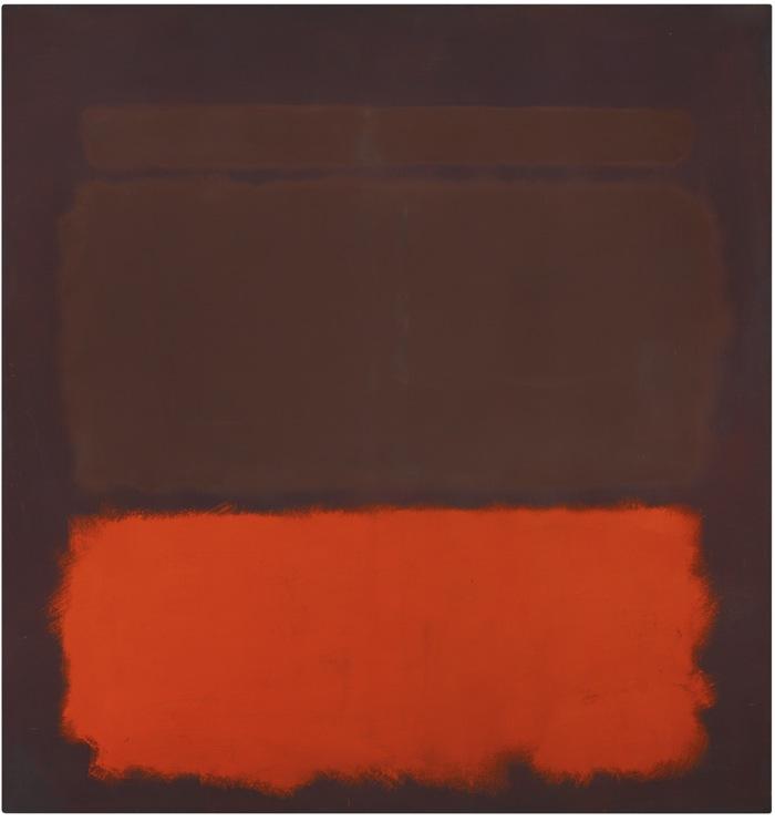 Mark Rothko-No. 6, Sienna, Orange On Wine-1962
