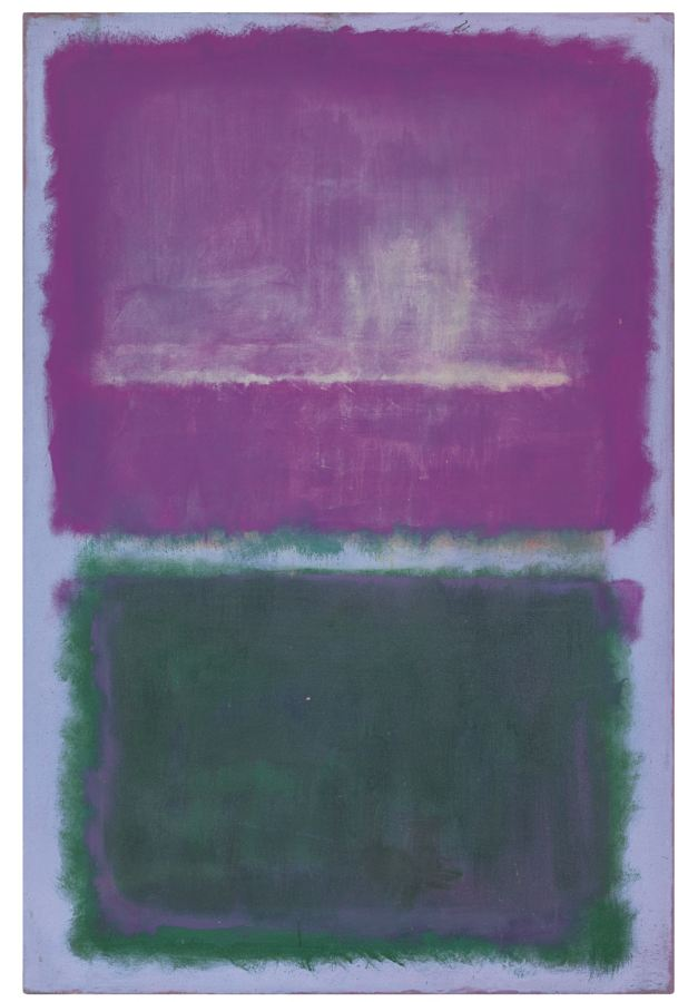 Mark Rothko-Untitled (Lavender And Green)-1952