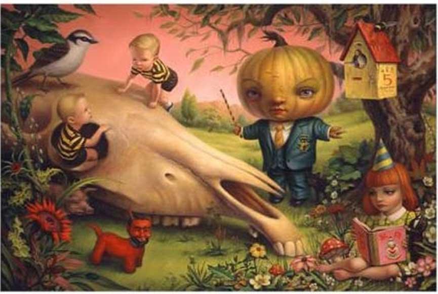 Mark Ryden - The Pumpkin President