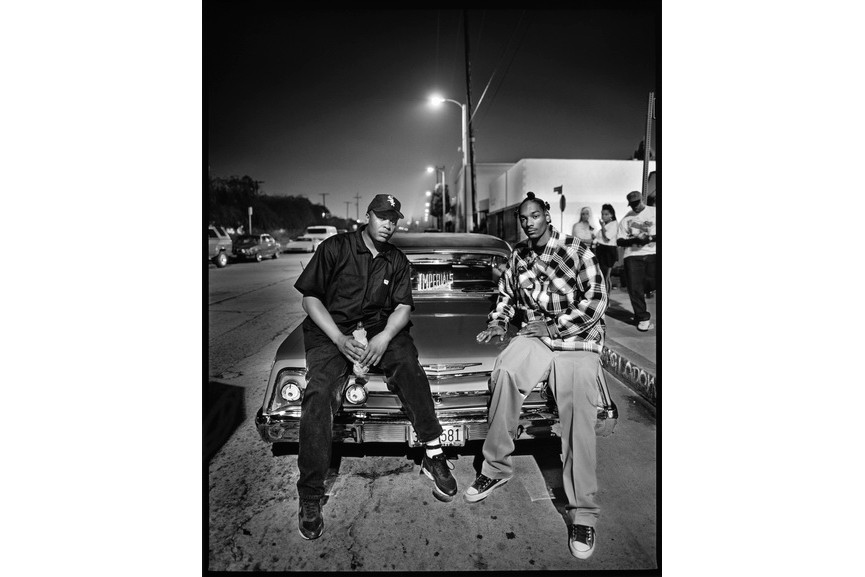 Mark Seliger - Dr Dre and Snop Dog, Los Angeles, CA