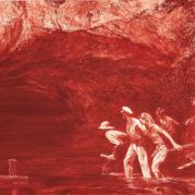 Mark Tansey - Myth of Depth II, 1987 (detail)