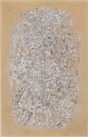 Mark Tobey-Royal Landscape-1959
