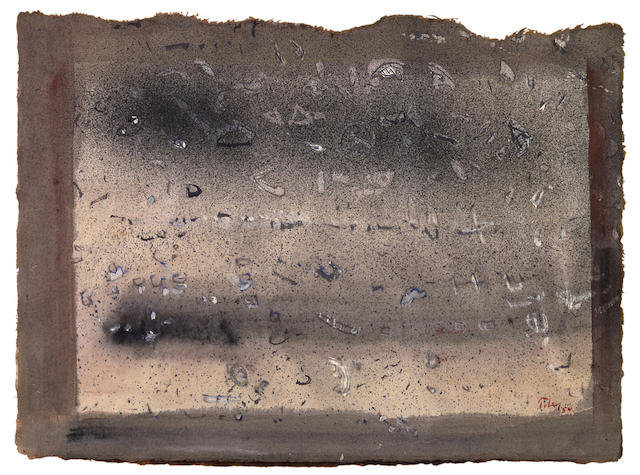 Mark Tobey-Untitled-1954
