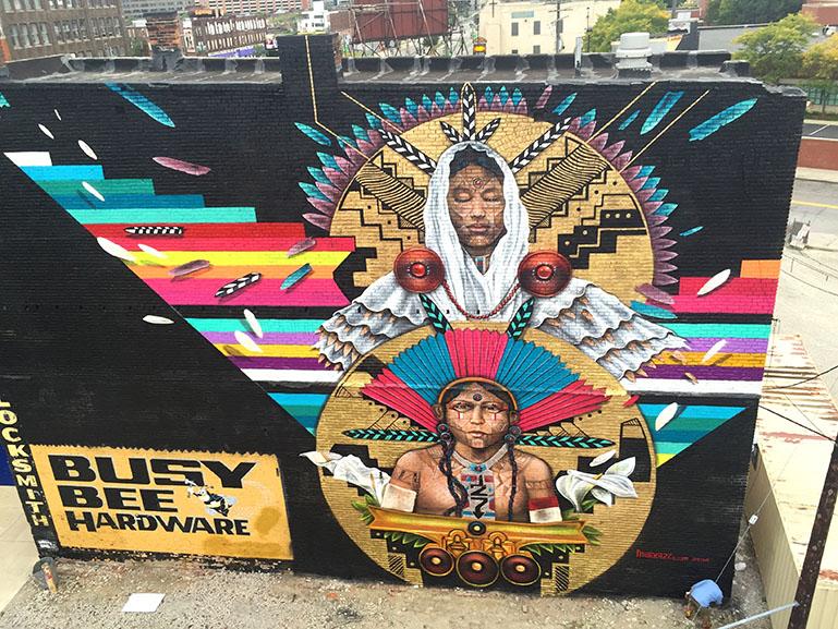 Marka27 mural Detroit