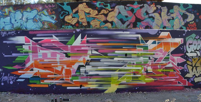 street art in Spain - 2015 - mural