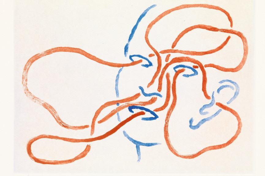 Markus Raetz - Sinne I, 1987