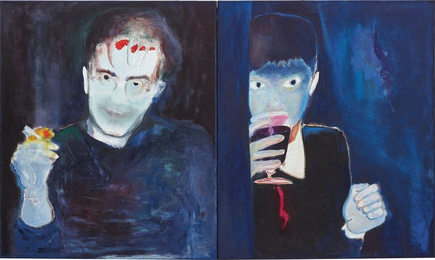 Marlene Dumas - De Gele Vingers Van De Kunstenaar [The Yellow Fingers Of The Artist], 1985