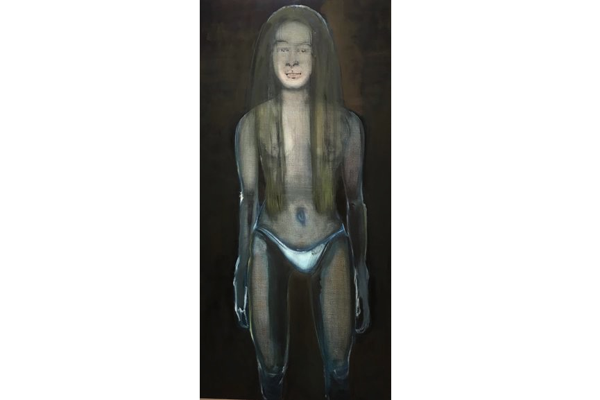 Marlene Dumas - Magdalena (Underwear And Bedtime Stories), 1995