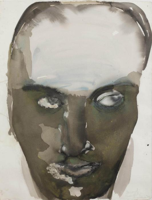 Marlene Dumas-Second thoughts-1994