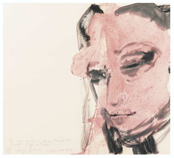 Marlene Dumas-The Man Said Why Do You Think You Here, I Said I Got No Idea-
