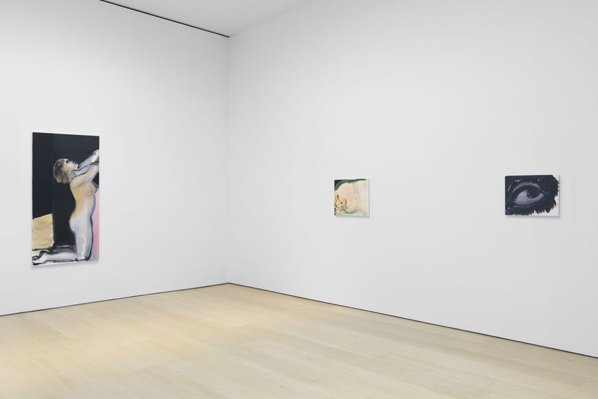 Marlene Dumas at David Zwirner, Installation View
