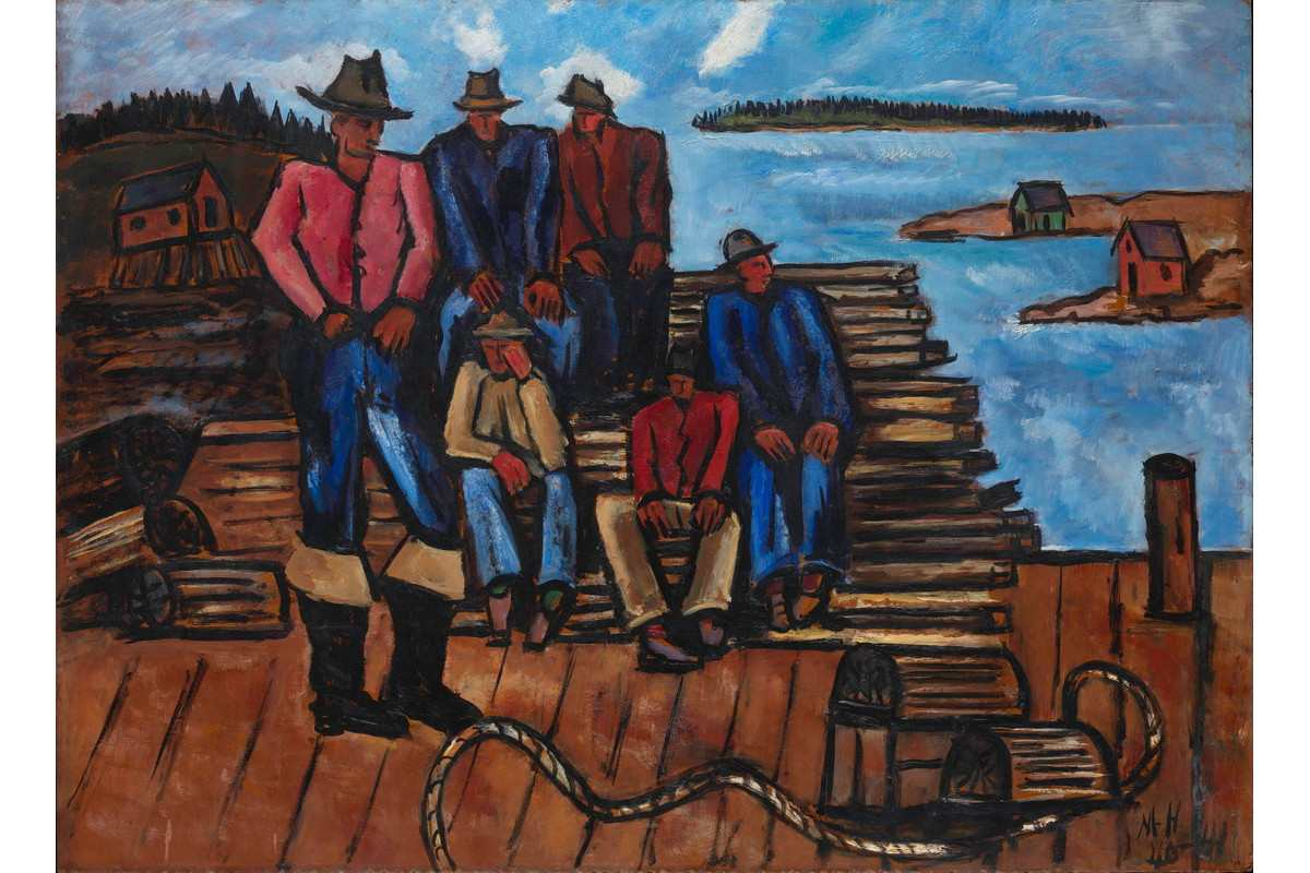 Marsden Hartley - Lobster Fishermen