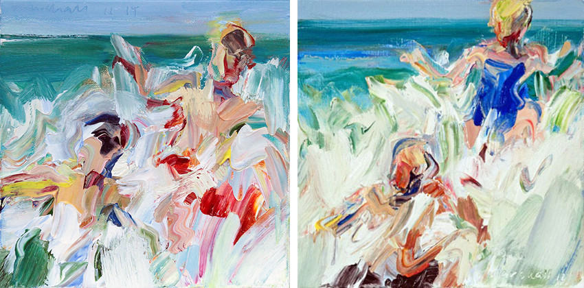 Marshall Crossman - Beach Series #201, 2015 - Beach Series #204, 2015
