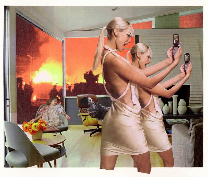 Martha Rosler - House Beautiful, Bringing the War Home, Photo Op, 2004