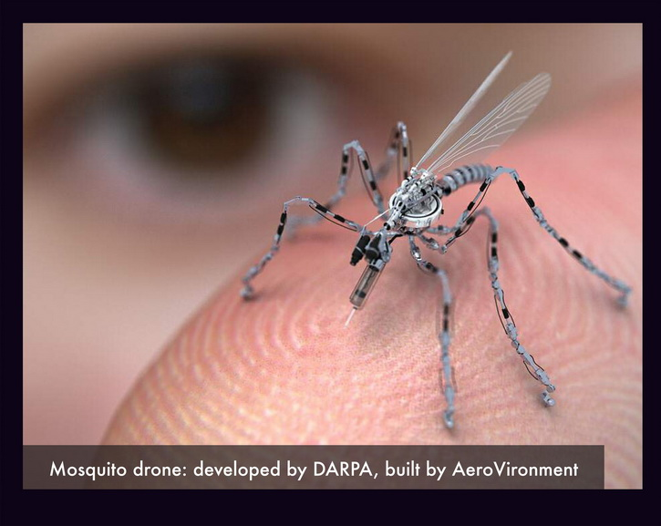 Martha Rosler - Mosquito Drone, detail, from Theater of Drones, 2013