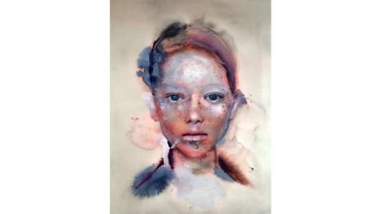 Martha Zmpounou - Girl with freckles