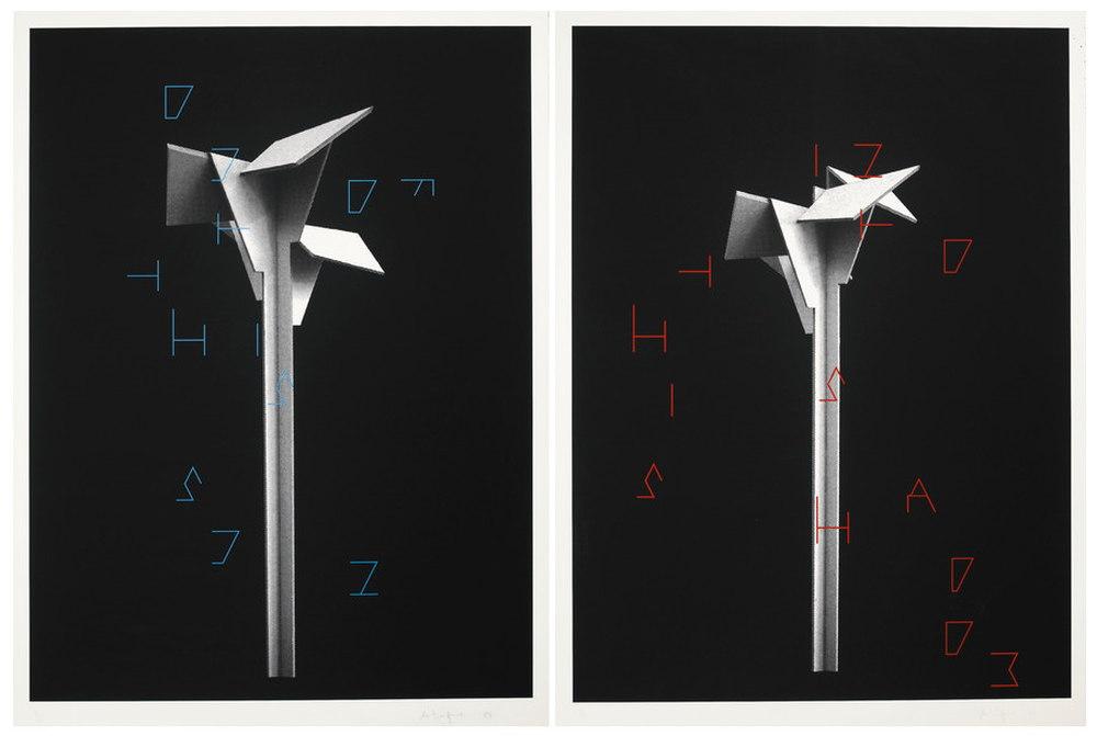 Martin Boyce-Untitled (2 Works)-2008