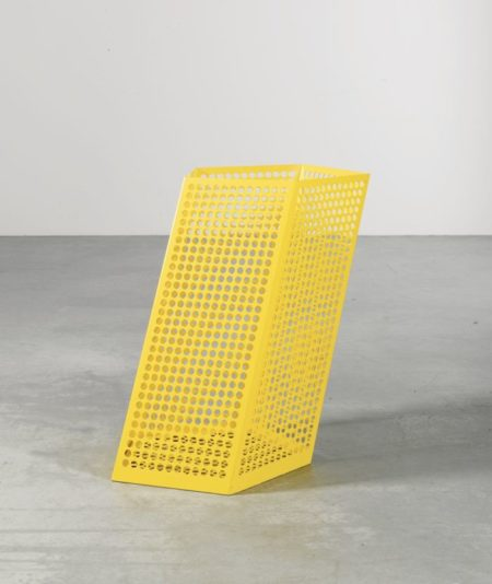 Martin Boyce-We Are Resistant - We Dry Out In The Sun (Large Yellow Poolside Bin)-2004