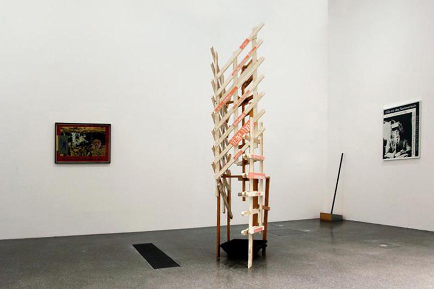 Martin Kippenberger – 'Wenn's anfängt durch die Decke zu tropfen', via artwasted.com