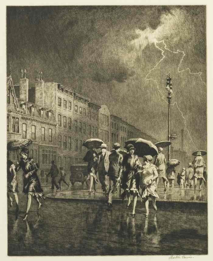 Martin Lewis-Break In The Thunderstorm-1930