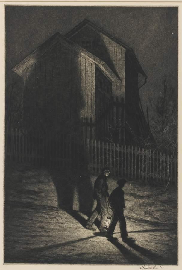 Martin Lewis-Ha'Nted-1932